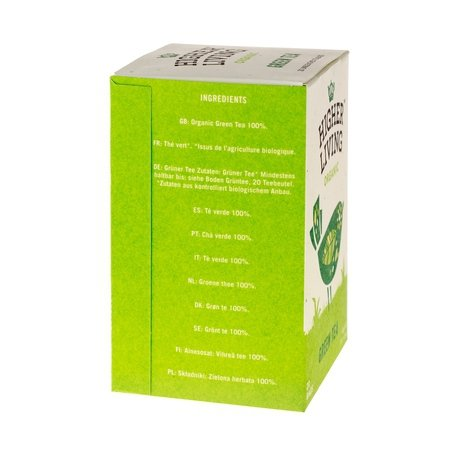 Higher Living Green Tea - herbata - 20 saszetek