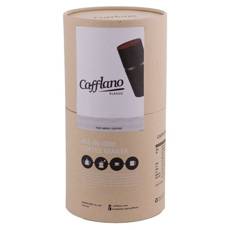 Cafflano Klassic - All in One Coffee Maker - Czarny
