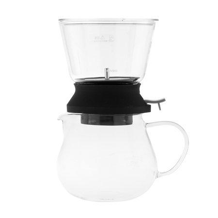 Hario Largo 35 Tea Dripper Server Set - Zaparzacz do herbaty z dzbankiem