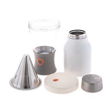 Asobu - Cold Brew Insulated Portable Brewer - Biały