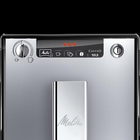Melitta Solo Srebrny / Czarny - Ekspres ciśnieniowy