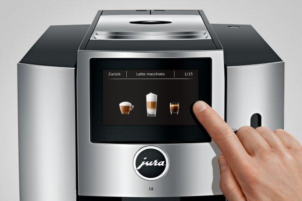 Ekspres automatyczny do domu Jura S8 Chrome (EA)