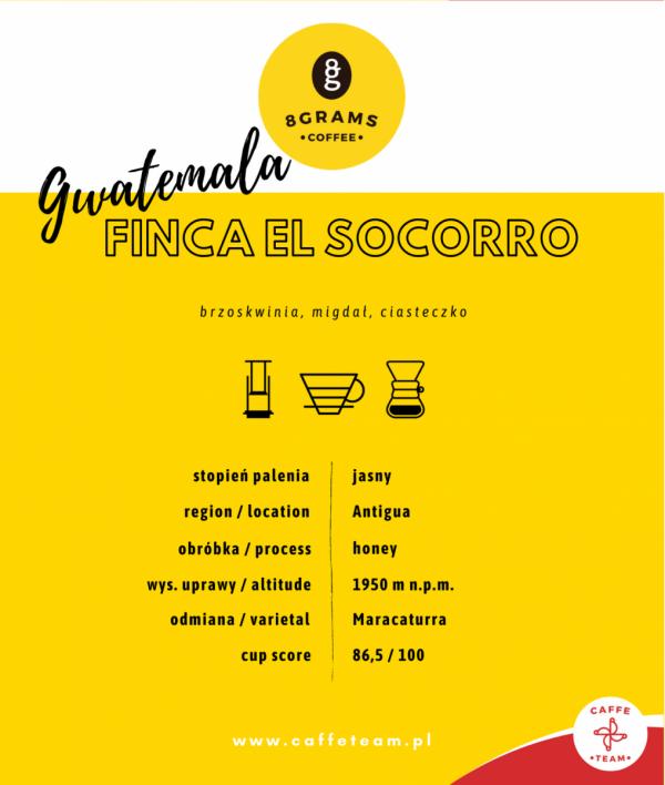 Gwatemala FINKA EL SOCORRO
