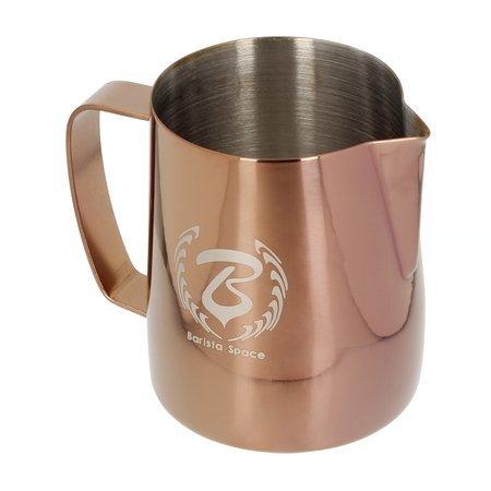 Barista Space - dzbanek do mleka - rose gold 350 ml