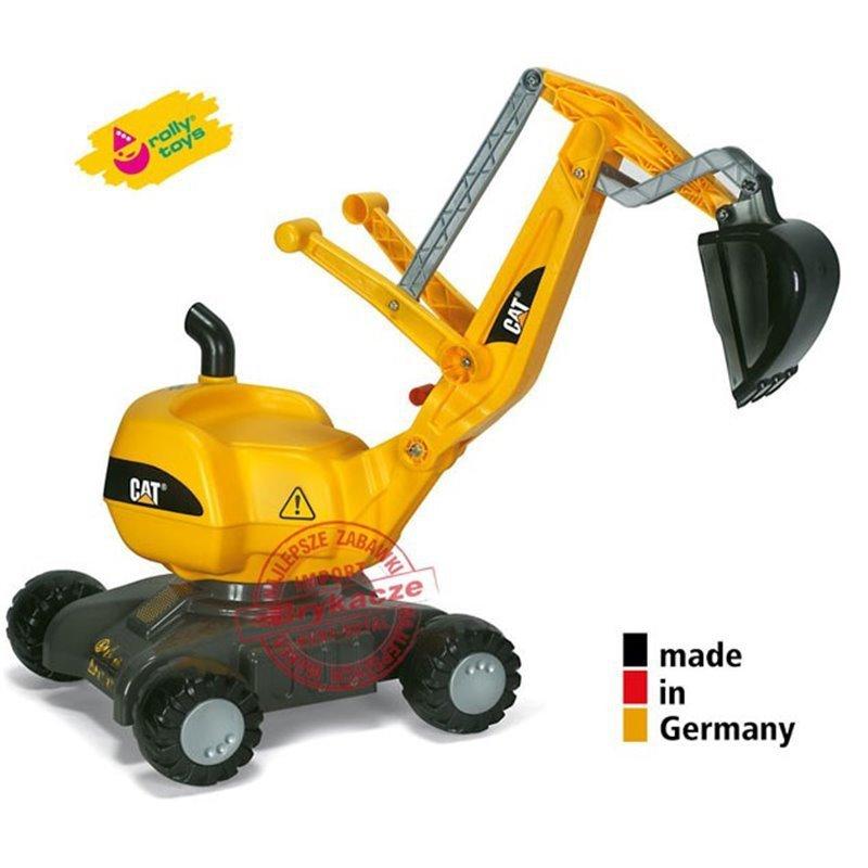 Rolly Toys rollyDigger Koparka CAT Jeździk obrotowa