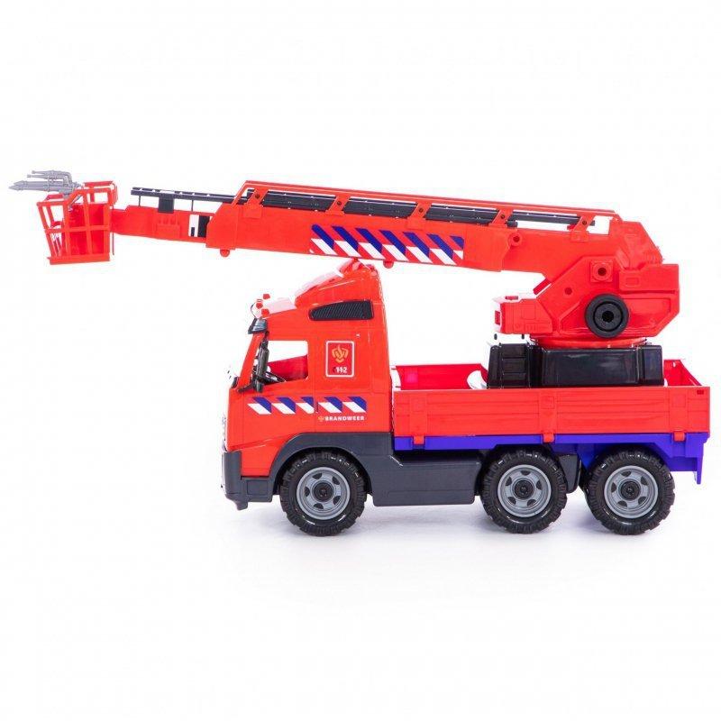 Wader Samochód Ciężarówka z wysięgnikiem 58 cm