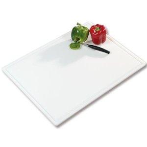 Deska do krojenia, bialy, PE-, 61x45x1,2 cm