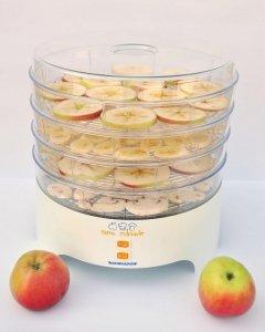 Suszarka do grzybów, warzyw i owoców Niewiadów 970-01 PS/4 (300W; kolor biały)