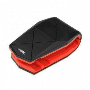 Uchwyt samochodowy IBOX H4 ALLIGATOR BLACK/RED ICH4R (kolor czarny)