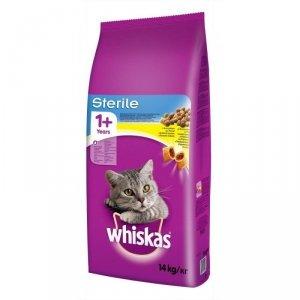 Karma whiskas Sterile (14 kg )
