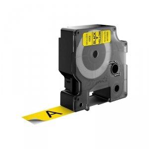 Taśma DYMO D1 19 mm x 7 m czarny/żółty S0720880 (19mm )