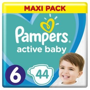 Pampers Zestaw pieluch Active Baby Maxi Pack 6 (13-18 kg); 44