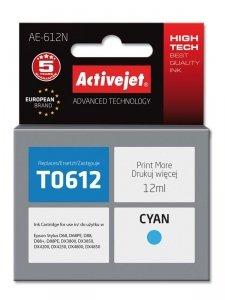 Tusz Activejet AE-612N (zamiennik Epson T0612; Supreme; 12 ml; niebieski)