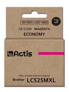 Tusz ACTIS KB-525M (zamiennik Brother LC525M; Standard; 15 ml; czerwony)