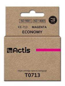 Tusz ACTIS KE-713 (zamiennik Epson T0713, T0893, T1003; Standard; 13.5 ml; czerwony)