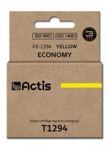 Tusz ACTIS KE-1294 (zamiennik Epson T1294; Standard; 15 ml; żółty)