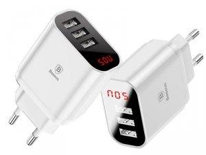 Ładowarka Baseus CCALL-BH02 (USB 3.0; kolor biały)