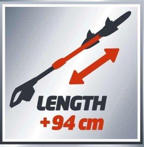 Nożyce do żywopłotu EINHELL GE-HH 18 Li T 3410825 (450 mm)