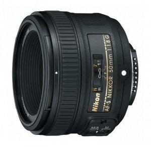 Obiektyw do aparatu Nikon 50mm f/1.8G AF-S - JAA015DA