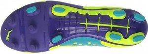 Buty pilkarskie Puma Evo Power 2 FG żólto-fioletowe