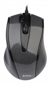 Mysz A4 TECH V-track N-500F-1 A4TMYS40975 (optyczna; 1000 DPI; kolor czarny)