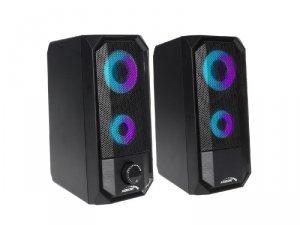 Głośniki komputerowe AUDIOCORE AC845 (2.0; kolor czarny)
