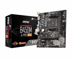 Płyta główna MSI B450M-A PRO MAX (AM4; 2x DDR4 DIMM; Mini ATX)