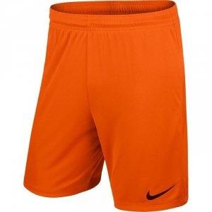 Spodenki piłkarski juniorska Nike (M; Poliester; kolor pomarańczowy)