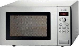 Kuchenka mikrofalowa BOSCH HMT 84M451 (900W; 25l; kolor srebrny) (WYPRZEDAŻ)