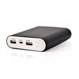 Power Bank VAKOSS TP-2588K (10400mAh; microUSB, USB 2.0; kolor czarny)