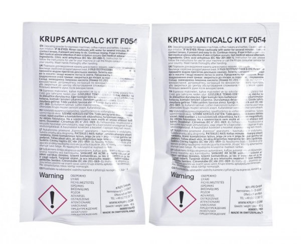 Odkamieniacz do czyszczenia ekspresów Krups F05400 (Odkamieniacz x 1)