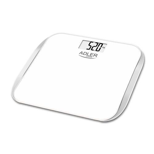Adler AD 8164 waga Elektroniczna skala pocztowa Kwadrat Srebrny, Biały