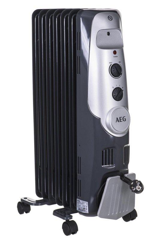 Grzejnik olejowy AEG RA 5520 (1500W; 7; kolor szary)