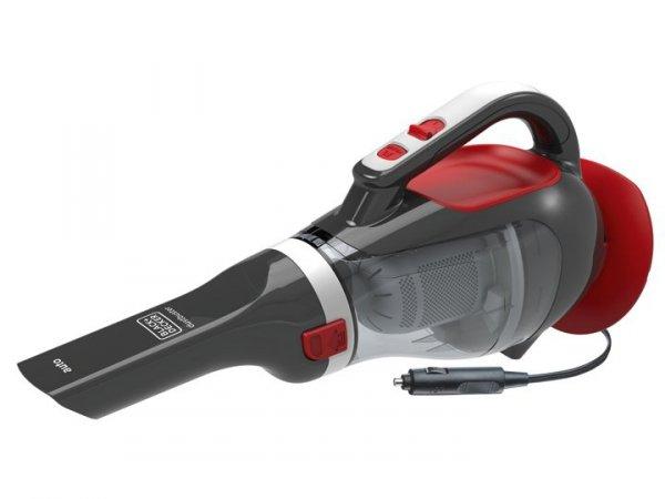Black & Decker ADV1200 odkurzacz przenośny Bez worka Szary, Czerwony