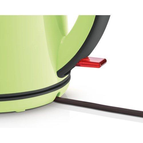Bosch TWK7506 czajnik elektryczny 1,7 l Czarny, Zielony 2200 W