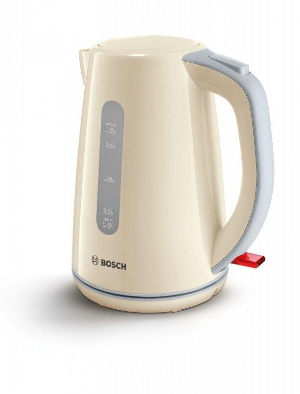 Bosch TWK7507 czajnik elektryczny 1,7 l Kolor kremowy 2200 W
