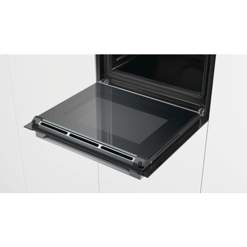 Piekarnik elektryczny BOSCH HBG635BB1 (Pierścień sterujący; 3650W; Czarny)