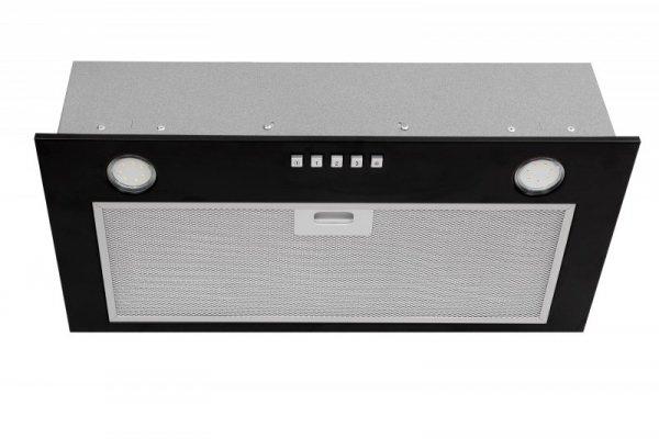 Okap podszafkowy CIARKO SL-BOX 60 Black (171 m3/h; 600mm; kolor czarny)