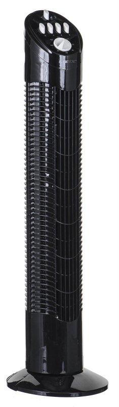 Clatronic T-VL 3546 wiatrak domowy Czarny