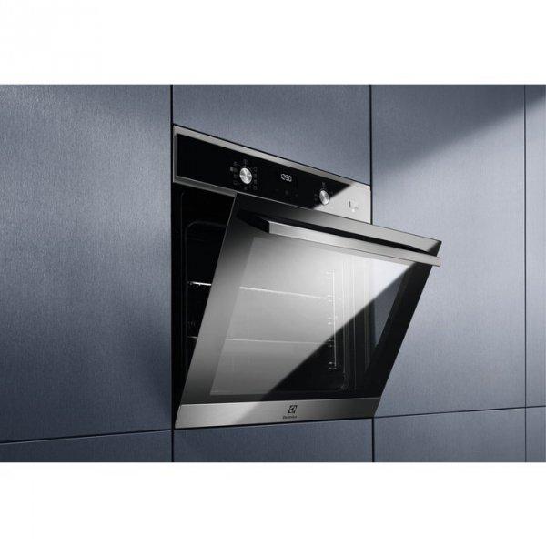Piekarnik parowy do zabudowy Electrolux EOD5C71X (Pokrętło; 2990W; Czarny)