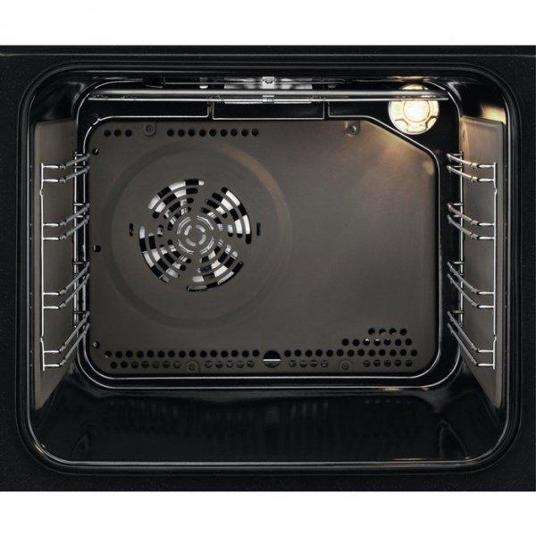 Piekarnik elektryczny do zabudowy Electrolux EZF5C50V (Elektroniczne, Pokrętło; 2500W; Biały)