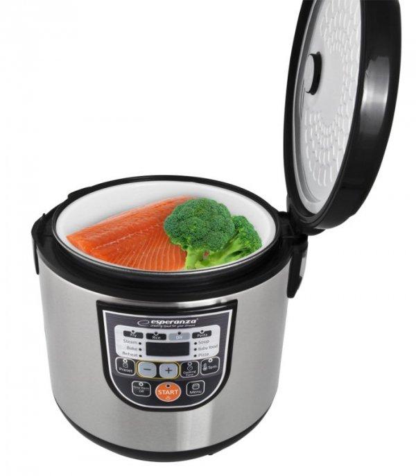 Esperanza EKG011 Multicooker Cooking 5 L 860 W Czarny, Metaliczny