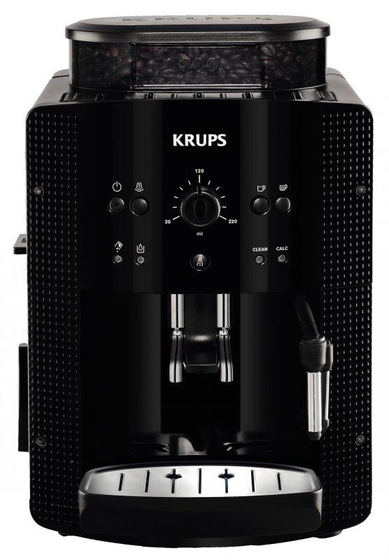 Ekspres ciśnieniowy automatyczny Krups Roma EA8108 (1450W; kolor czarny)