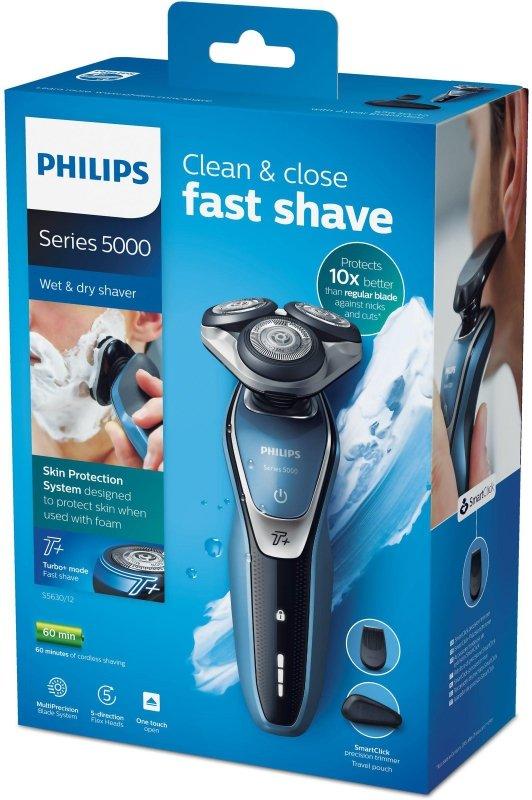 Philips SHAVER Series 5000 Golarka elektryczna do użytku na sucho i na mokro