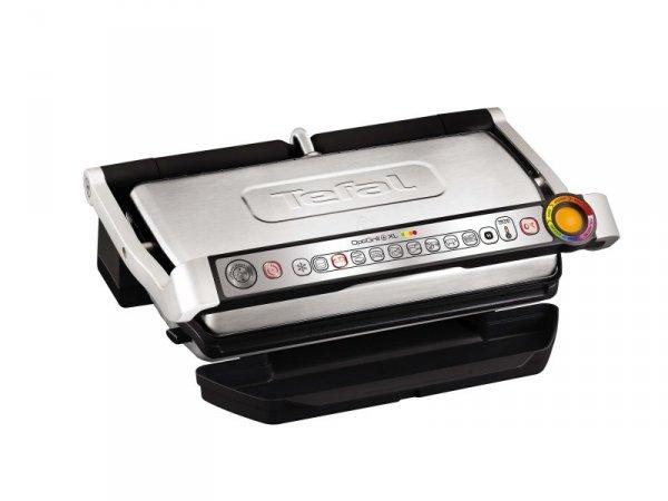 Grill elektryczny Tefal GC722D34 (składany; 2000W; kolor czarno-srebrny)