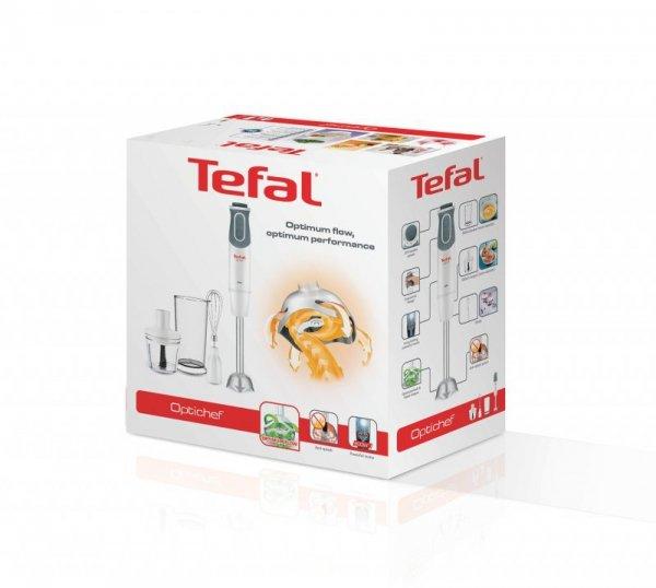 Tefal Optichef HB643138 blender 0,8 l Blender immersyjny 800 W Kwarc metaliczny, Biały