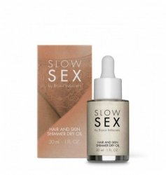 Olejek Slow Sex Hair and Skin Shimmer Dry