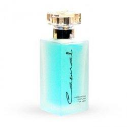 Feromony-Casual Blue 50ml - feromony dla mężczyzn - Niebieskie