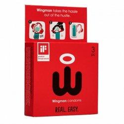 Prezerwatywy - Wingman Condoms 3 sztuki