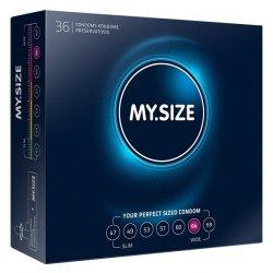 My Size. Prezerwatywy na wymiar - rozmiar 64 - 36 sztuk